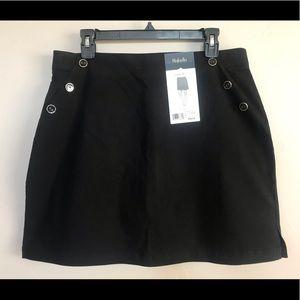 NEW Rafaella Women's Comfort Stretch Skort Black